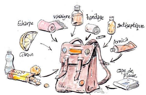 emporter un sac en manif