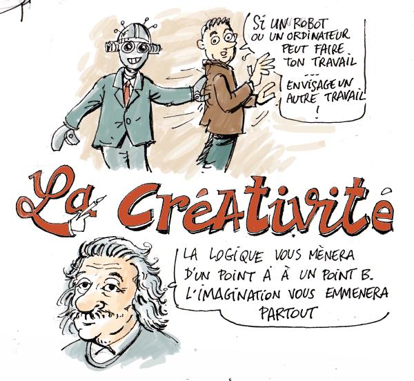créativité, dessin, musique