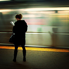 'On the platform, reading' photo (c) 2006, Mo Riza - license: http://creativecommons.org/licenses/by/2.0/