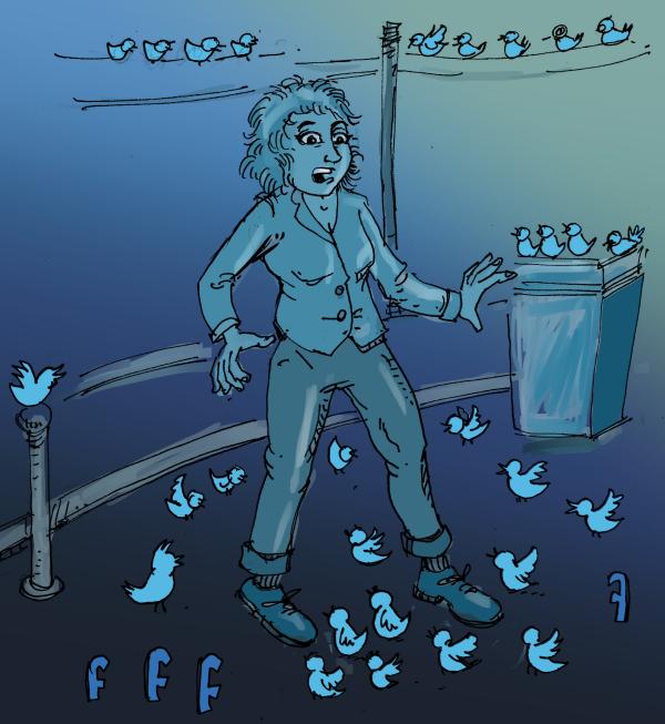 envahi par les tweets