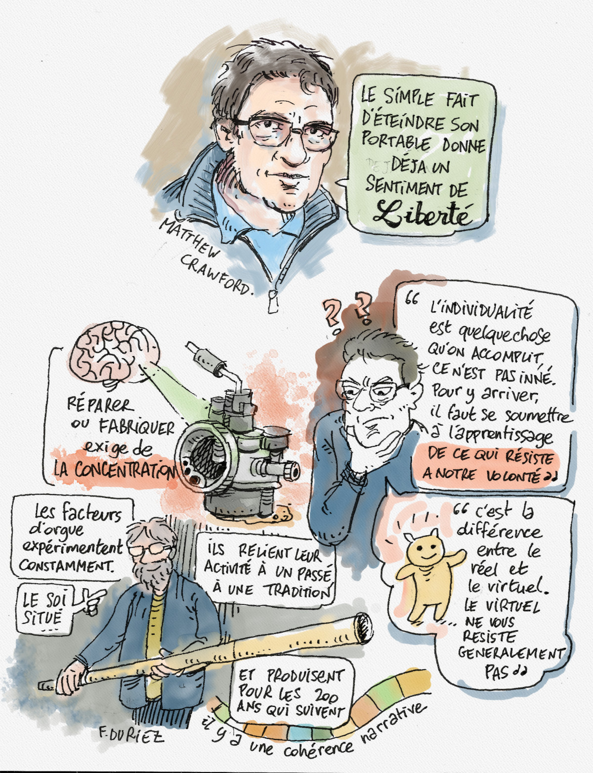 Matthew Crawford - le carburateur comme solution !
