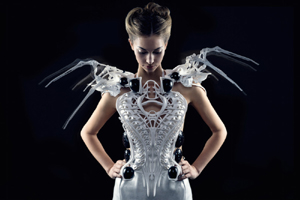 La robe Spider Dress de Anouk Wipprecht