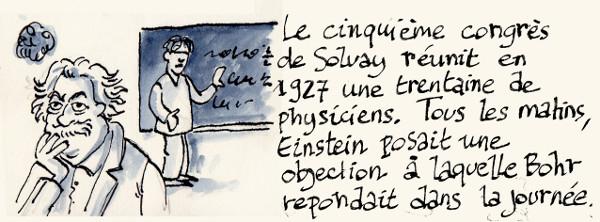Einstein et Bohr