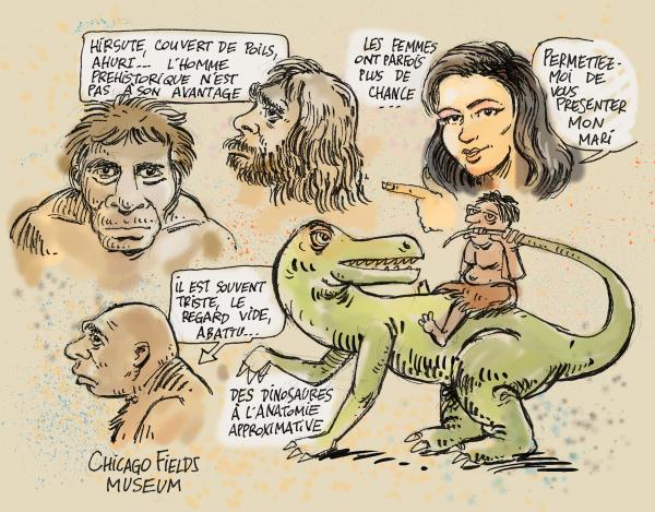 perspective évolutionniste - préhistoire