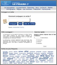 Apprendre A Conjuguer Les Verbes Francais Gratuit Et Mobile Thot Cursus