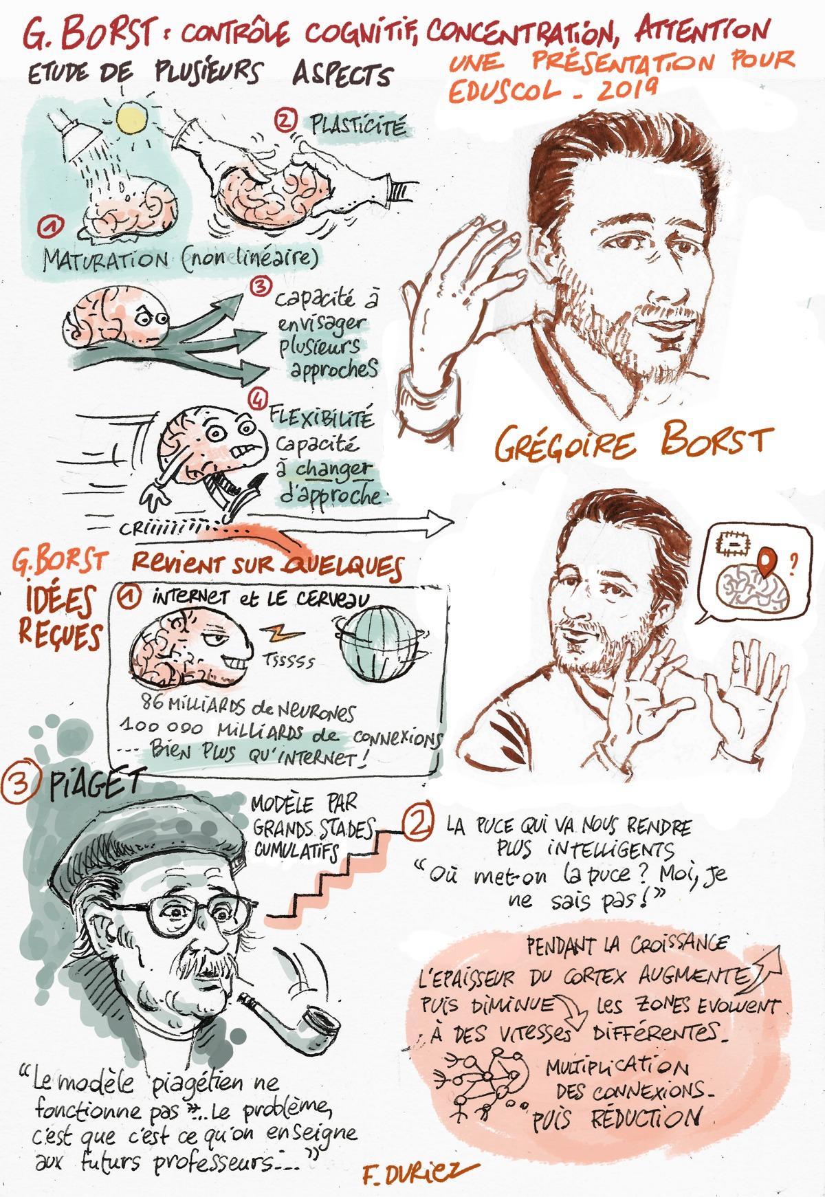 contrôle cognitif - Grégoire Borst