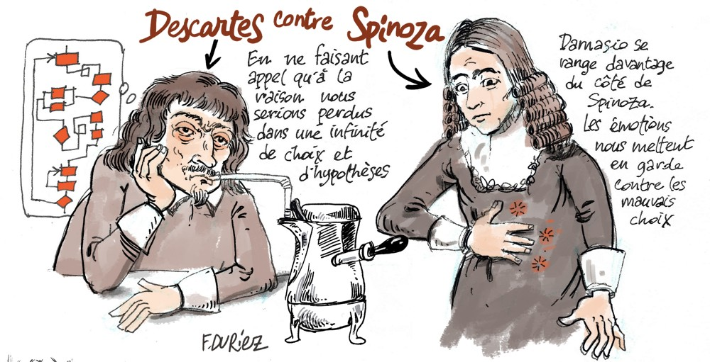 Descartes vs Spinoza