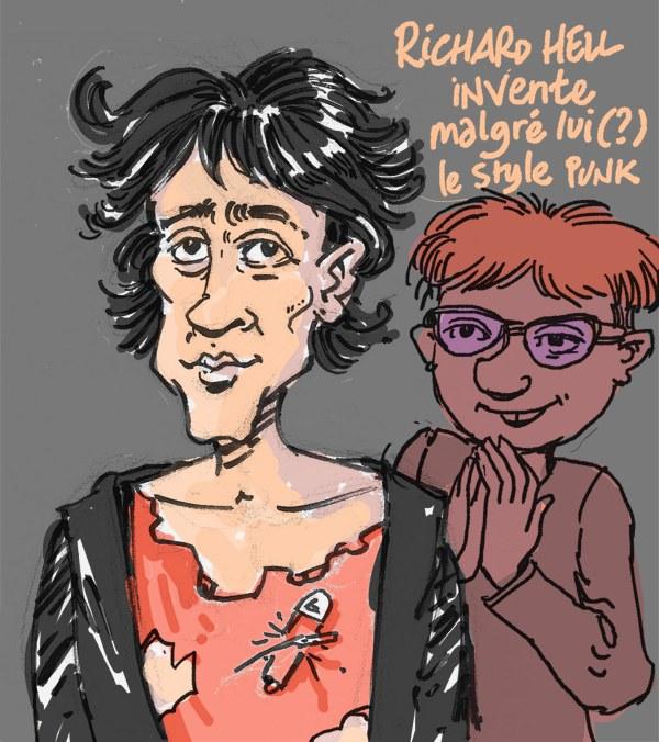 Richard Hell invente malgré lui (?) le style punk