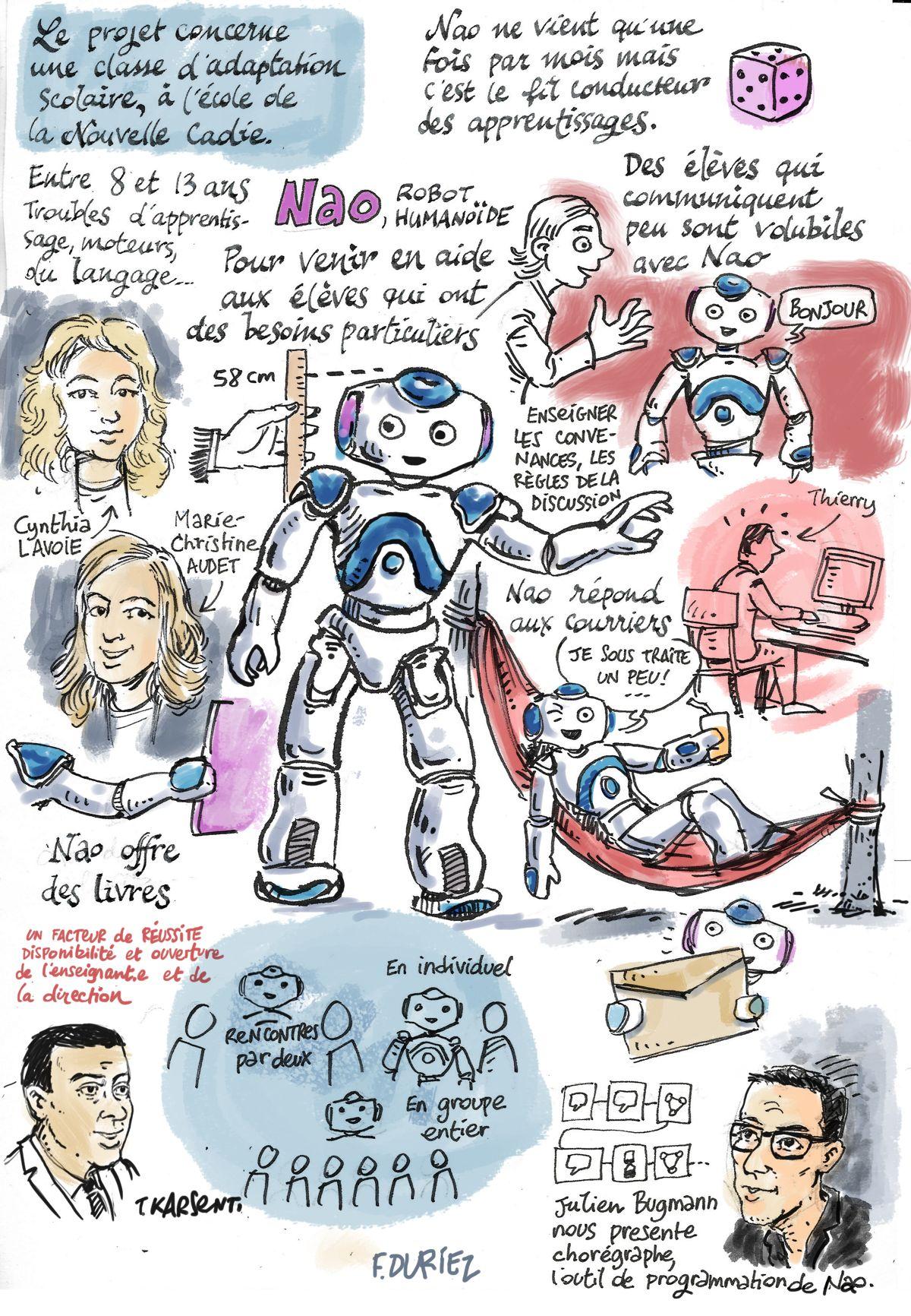 nao - robot humanoîde