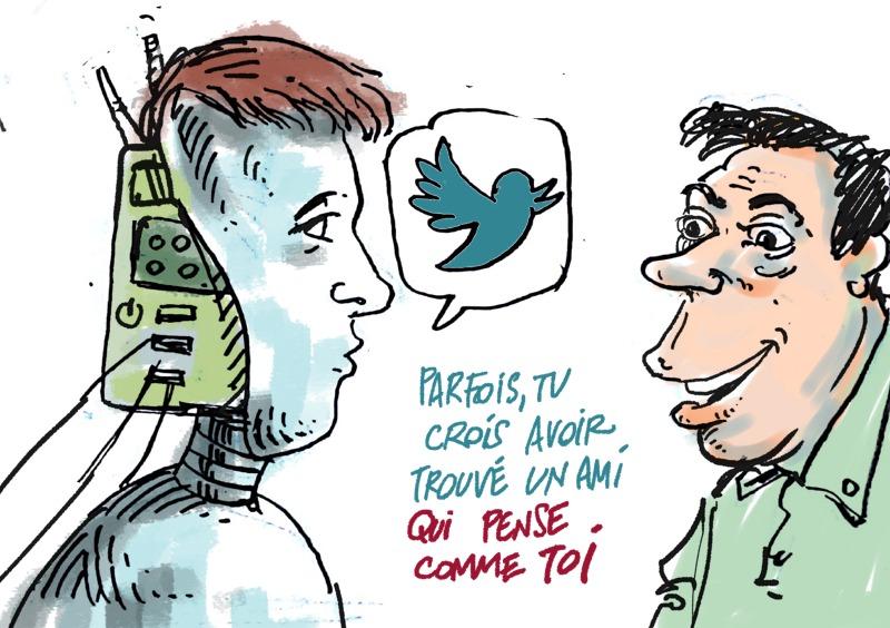 enfin, quelqu'un qui me comprend - Quand les robots dialoguent