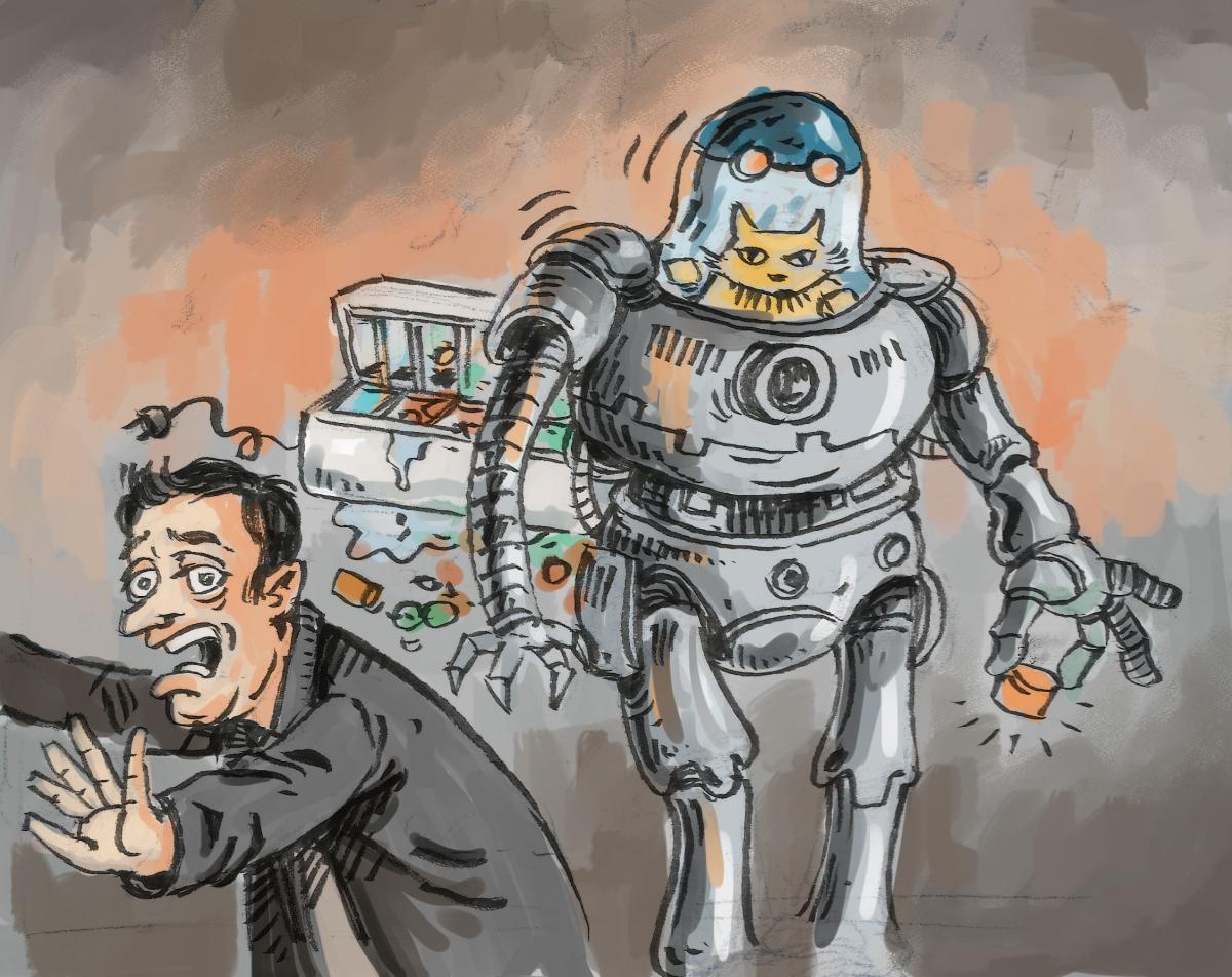 les robots inquiètent