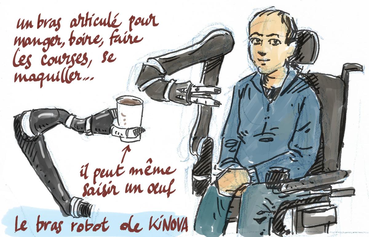 Kinova - le bras robot articulé
