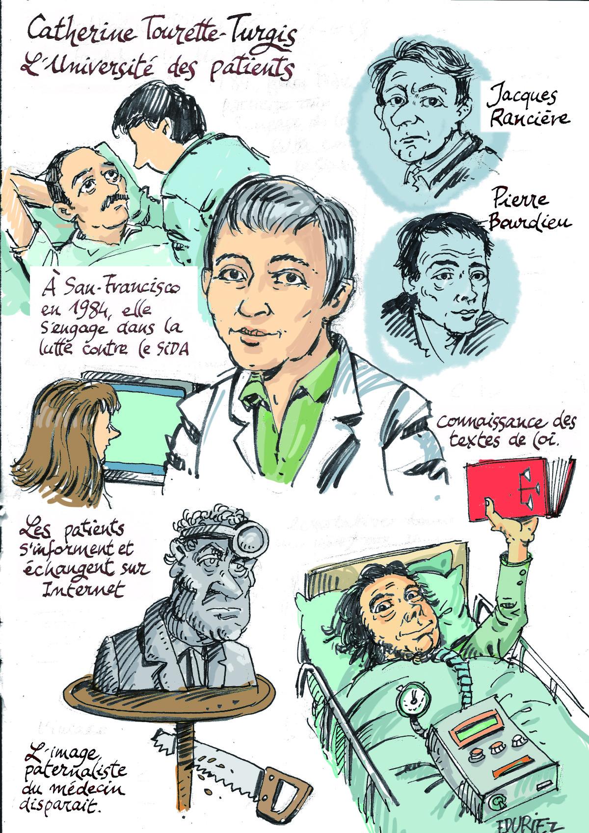 Catherine Tourette-Turgis - quelques sources d'engagement pour l'expression des patients