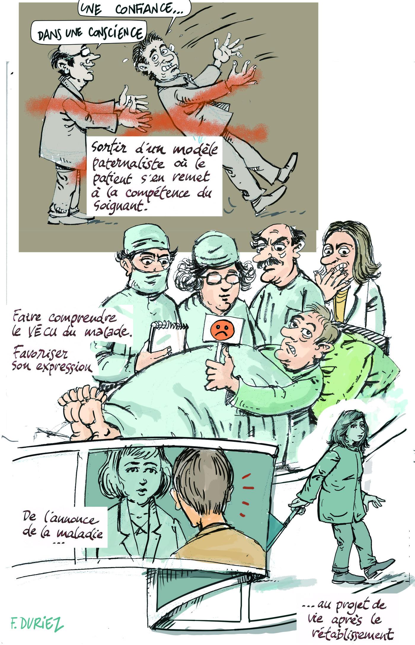 les patients-experts - quels thèmes