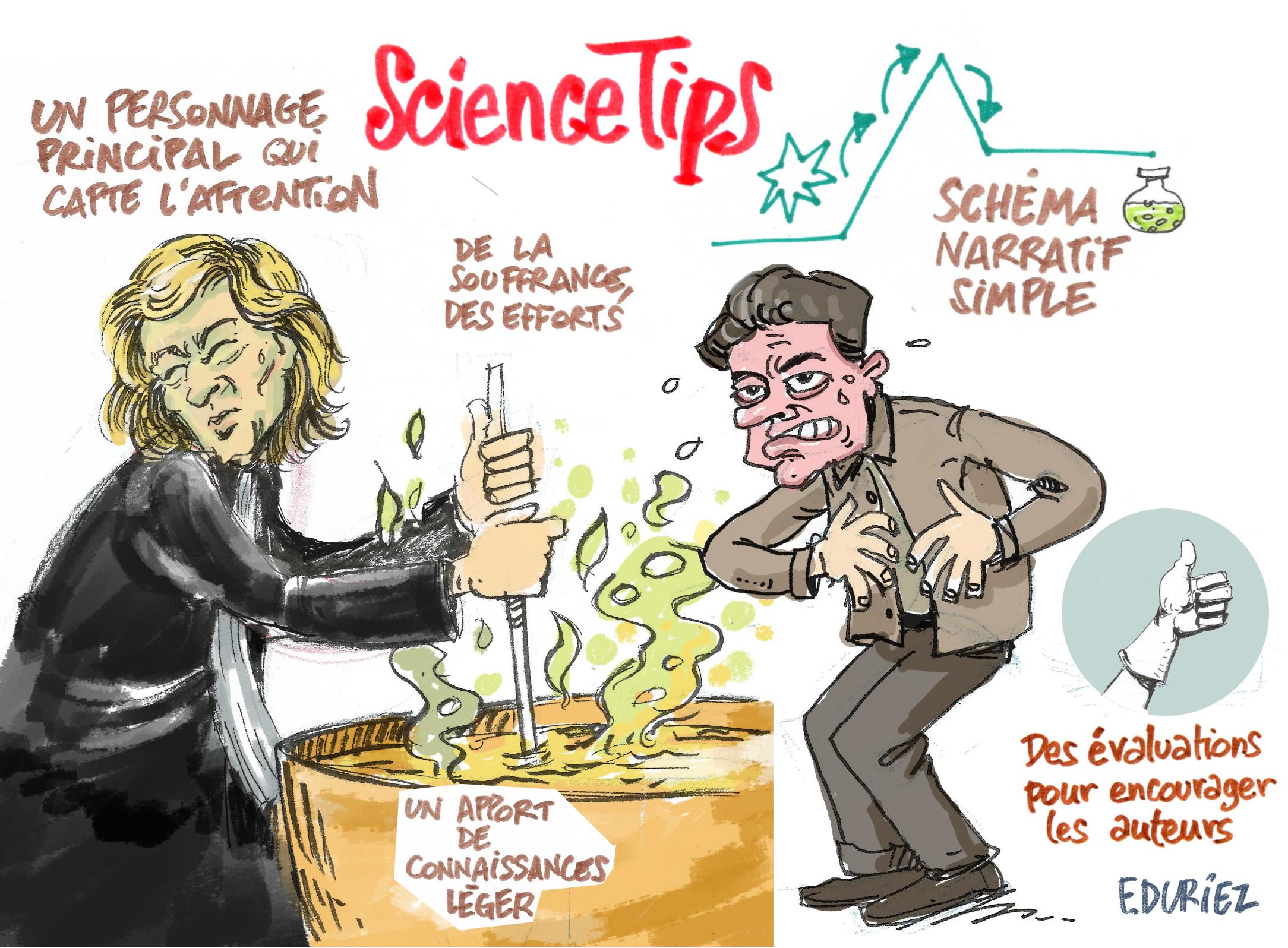 le storytelling de science tips